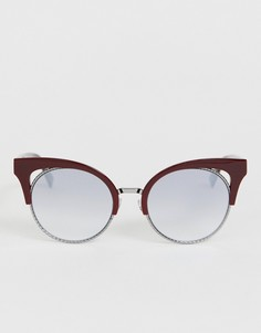Красные солнцезащитные очки кошачий глаз Marc Jacobs - Красный