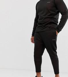 Черные зауженные джинсы скинни ASOS 4505 Plus - Черный