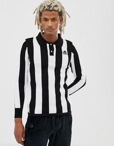Футболка-поло с длинными рукавами Kappa Pinturicchio - Черный