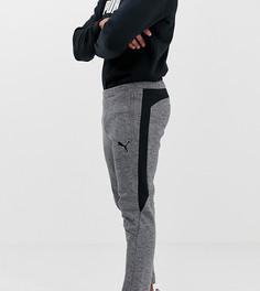 Брюки в полоску Puma Evo - Серый