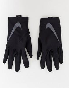 Черные базовые перчатки Nike Running - Черный