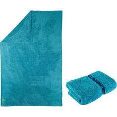 Мягкое Синее Полотенце Из Микрофибры 110 X 175 См, Размер Xl Nabaiji