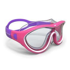 Маска Для Плавания Swimdow, Размер S Розово-белая Nabaiji