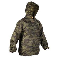 Камуфляжная Водонепроницаемая Куртка Для Охоты Light 100 Solognac
