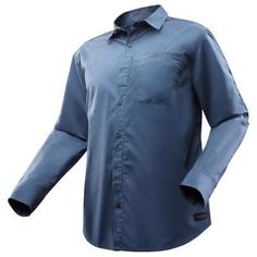 Модульная Мужская Рубашка С Длинными Рукавами Travel 500 Forclaz