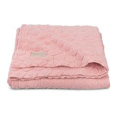 """Вязаный плед Jollein """"Fancy knit"""" blush pink, 75х100 см"""