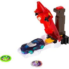 Игровой набор Дикие Скричеры Скричер-катапульта красная, машинка Screechers Wild