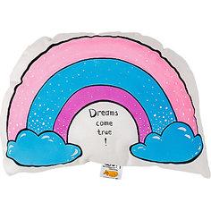 """Подушка Ligra """"Мечты сбываются"""" ручной работы Ligrasweethome"""
