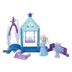 """Игровой набор с мини-куклой Disney Princess Холодное сердце """"Королевские спальни"""" Эльза с домиком Hasbro"""