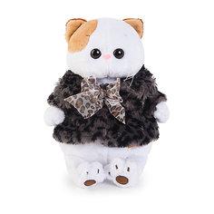 Мягкая игрушка Budi Basa Кошечка Ли-Ли в шубке с бантиком, 24 см