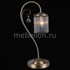 Настольная лампа декоративная OLBIA 11397/1 ANTIQUE Natali Kovaltseva