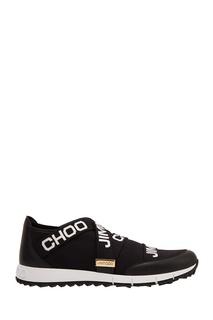 Черные кроссовки Toronto Jimmy Choo
