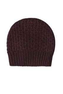 Фактурная вязаная шапка Prada