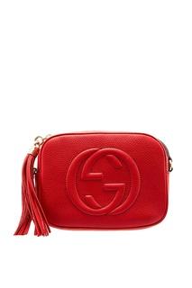 Красная сумка Soho Gucci