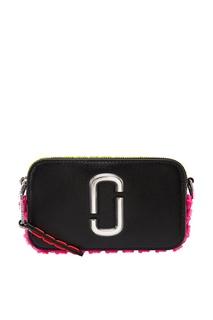 Кожаная сумка с контрастной отделкой Marc Jacobs