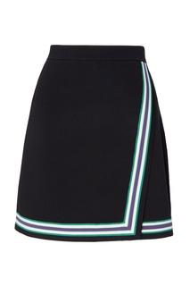 Мини-юбка с имитацией запаха Elodie Sandro