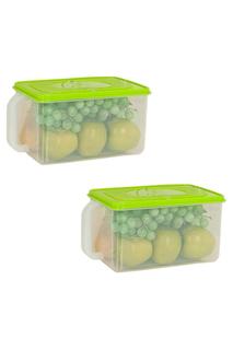 Два контейнера, 31,5x18,5x30 HOMSU