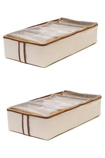 Два кофра для обуви, 51х25х24 HOMSU