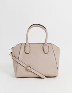 Розовая сумка на плечо с длинным ремешком Lipsy - Розовый
