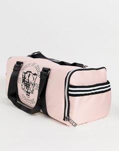 Сумка с логотипом на молнии Juicy Couture - Розовый