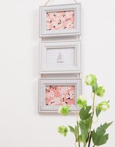Тройная рамка для фотографий (10x15) Sass & Belle - Мульти