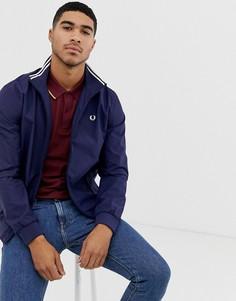 Темно-синяя куртка Fred Perry Brentham - Темно-синий