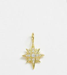 Позолоченная подвеска для ожерелья с кристаллами Galleria Armadoro - Золотой