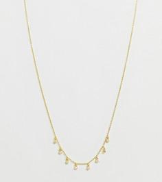 Позолоченное ожерелье с подвеской Galleria Armadoro - Золотой