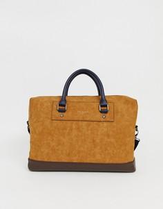 Светло-коричневая сумка для ноутбука Ted Baker - Рыжий