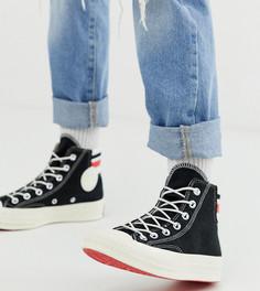 Высокие кеды в стиле 80-х Converse Chuck 70 - Черный