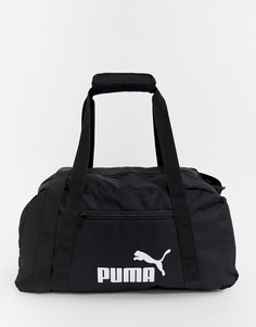 Черная спортивная сумка Puma Phase - Черный