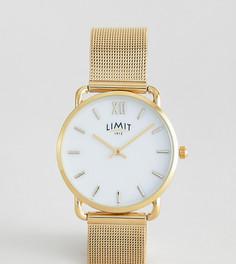 Золотистые часы 33 мм Limit эксклюзивно для ASOS - Золотой