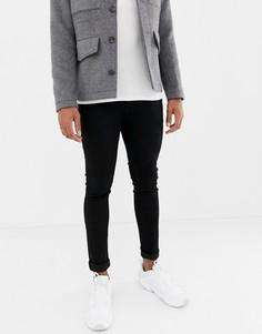Черные зауженные джинсы Jack & Jones - Черный