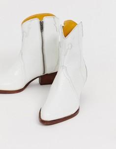 Ботинки в стиле вестерн Free People new frontier - Белый