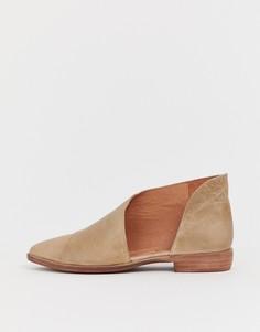 Туфли на плоской подошве Free People - Коричневый