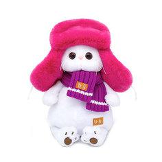 Мягкая игрушка Budi Basa Кошечка Ли-Ли в меховой шапке, 24 см