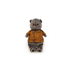 Мягкая игрушка Budi Basa Кот Басик в куртке-косухе, 19 см