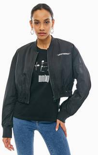Укороченная куртка бомбер Cheap Monday