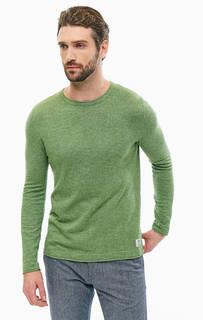 Зеленый джемпер из хлопка Tom Tailor