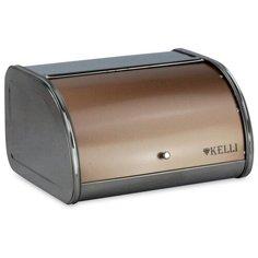 Хлебница Kelli металлическая