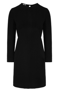 ff800865afa Черное платье с длинными рукавами Miu Miu