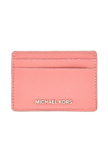 Розовая визитница Money Pieces Michael Michael Kors