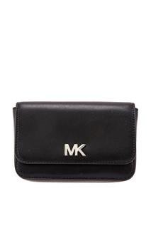 Черная сумка на пояс Mott Michael Michael Kors