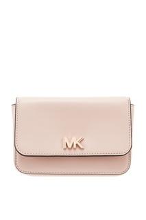 Светло-розовая сумка на пояс Mott Michael Michael Kors