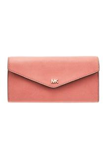 Розовый кошелек Money Pieces Michael Michael Kors