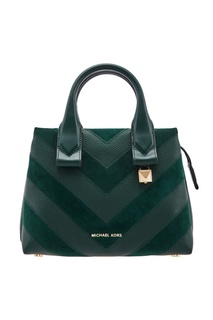 Фактурная зеленая сумка Rollins Michael Michael Kors