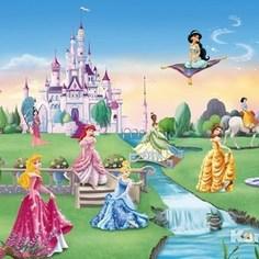 Фотообои Disney Princess Castle (3,68х2,54 м)