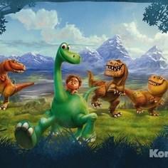 Фотообои Disney The Good Dinosaur (3,68х2,54 м)