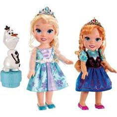 Игровой набор Disney Princess Холодное Сердце Принцессы Дисней 2 куклы и Олаф (310170)