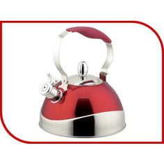 Чайник 3.0 л со свистком Teco (TC-115-R)